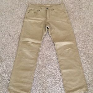 Men's tan chinos